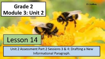 EL 2nd Grade - Module 3, Unit 2 - Lesson 14 - Assessment Part II