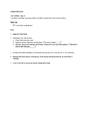 EL 5th Grade Module 1 Unit 1 Student Task Cards - ALL Block