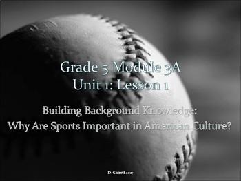 EL 5th grade Module 3a Unit 1
