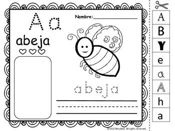 Perfecto Hojas De Trabajo Pre K Del Alfabeto Modelo - hojas de ...