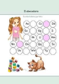Abecedario Español Worksheets & Teaching Resources   TpT