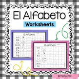 EL ALFABETO WORKSHEETS