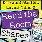 How Many Shapes Do You See? ELL Vocabulary Practice