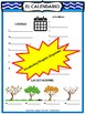 EL CALENDARIO Posters, Graphic Organizers and Vocabulary P