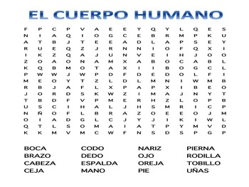 EL CUERPO HUMANO / THE HUMAN BODY IN SPANISH