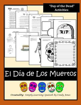 """EL DIA DE LOS MUERTOS (""""Day of the Dead"""") ACTIVITIES"""