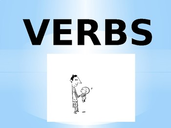 EL/ESL Level 1 VERBS PowerPoint to Accompany Flashcards (with Arabic)