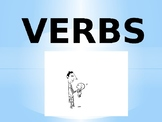 EL/ESL Level 1 VERBS PowerPoint to Accompany Flashcards (w