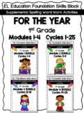 EL Education 1st Grade Skills Block MEGA BUNDLE FOR THE YEAR Modules 1-4