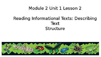 EL Education (2nd Edition) 5th Gr Module 2 Unit 1 Lesson 2