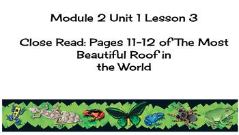EL Education (2nd Ed) 5th Gr Module 2 Unit 1 Lesson 3 Close Read Pages 11-12