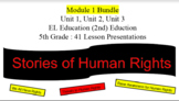 EL Education (2nd Ed) 5th Module 1 BUNDLE Units 1, 2, & 3 Esperanza Rising