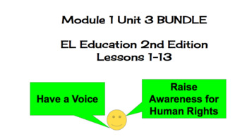 EL Education (2nd Ed) 5th Module 1 Unit 3 Lesson 01-13 BUNDLE Esperanza Rising