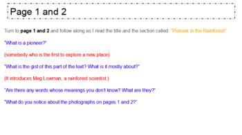 EL Education (2nd Ed) 5th Module 2 BUNDLE Units 1, 2, & 3 Rainforest