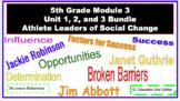 EL Education (2nd Ed) 5th Module 3 BUNDLE Units 1, 2, & 3