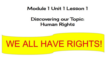 EL Education (2nd Ed) 5th Module 1 Unit 1 Lesson 01 Esperanza Rising