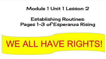 EL Education (2nd Ed) 5th Module 1 Unit 1 Lesson 02 Esperanza Rising