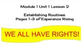 EL Education (2nd Ed) 5th Module 1 Unit 1 Lesson 02 Espera