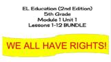 EL Education (2nd Edition) 5th Gr Module 1 Unit 1 Lesson 01-05 BUNDLE
