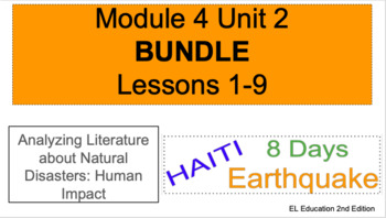EL Education (2nd Edition) 5th Gr Module 4 Unit 2 BUNDLE ALL LESSONS 1-9