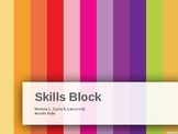 EL Education- 2nd Grade Skills Block - Module 1, Cycle 5