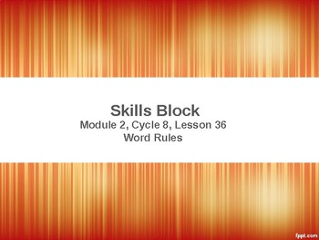 EL Education- 2nd Grade Skills Block - Module 2, Cycle 8