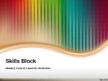 EL Education- 2nd Grade Skills Block - Module 3, Cycle 13