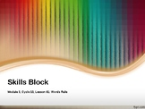 EL Education- 2nd Grade Skills Block - Module 3, Cycle 13