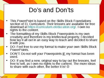EL Education- 2nd Grade Skills Block - Module 3, Cycle 15