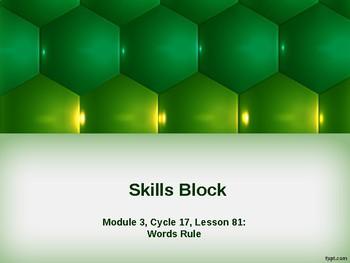 EL Education- 2nd Grade Skills Block - Module 3, Cycle 17