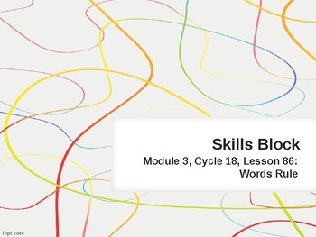 EL Education- 2nd Grade Skills Block - Module 3, Cycle 18