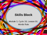 EL Education- 2nd Grade Skills Block - Module 3, Cycle 19