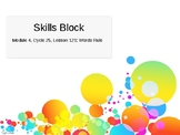 EL Education- 2nd Grade Skills Block - Module 4, Cycle 25