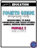 EL Education Vocabulary Cards - Grade 4 - Module 2