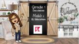 EL Education Bitmoji  Module 1 Decodable Books Google Slid