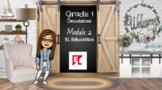 EL Education Bitmoji  Module 2 Decodable Books Google Slid