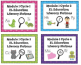 EL Education Common Core Literacy Stations Module 1 Bundle