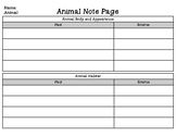 EL Education Curriculum Grade 4 Module 2 Animal Research N