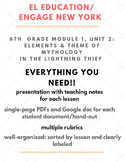 EL Education Engage NY 6th Grade ELA Module 1 Unit 2 The L