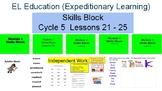 EL Education (Expeditionary Learning) Skills Block Grade 2 C5 Lessons 21 - 25