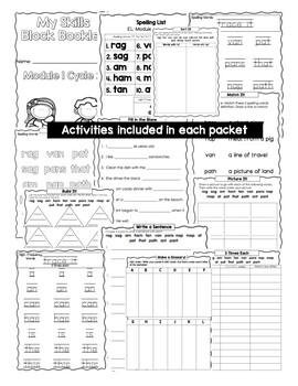 EL Education Foundations Skills Block 1st Grade Module 3 Cycle 13 Word Work