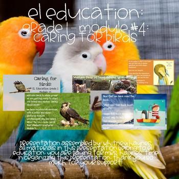 EL Education: Grade #1: Caring for Birds