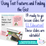 EL Education Grade 3 Module 2 Unit 2 - Text Features and Gist