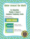 EL Education Grade 3 Module 4 Vocabulary Cards