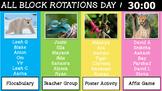 EL Education Grade 4 Module 2 ALL Block Rotation Schedule