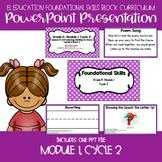 EL Education Kinder Foundational Skills Block Module 1 Cycle 2 Lessons 11-15 PPT