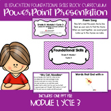 EL Education Kinder Foundational Skills Block Module 1 Cycle 3 Lessons 16-20 PPT