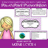 EL Education Kinder Foundational Skills Block Module 1 Cycle 4 Lessons 21-25 PPT