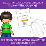 EL Education Kindergarten Foundational Skills Block Handwriting Journal