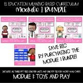 EL Education Kindergarten Module 1 Meaning-Based Module Lessons Complete Set